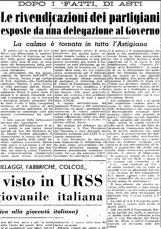unita 25 agosto 1946